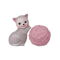 Kitten and Yarn Salt and Pepper