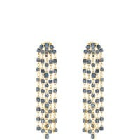 Crystal-embellished clip-on earrings | Oscar De La Renta | MATCHESFASHION.COM US