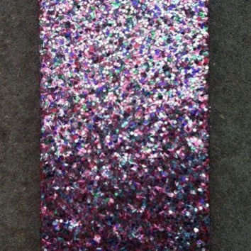 Tinsel Glitter iPhone 4 4s Hard Cover Case by kaylafenton on Etsy