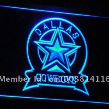 b239(a) Dallas Cowboys Sport Bar LED Neon Sign with On/Off Switch 20+ Colors 5 Sizes to choose