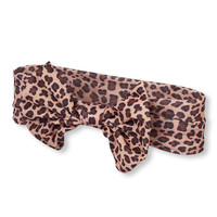 Baby Girls Leopard Print Oversized Bow Headwrap | The Children's Place