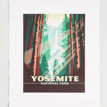 Been Great Sightseeing You Print in Yosemite - 16 x 20"