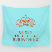 her daily motivation Wall Tapestry by Bianca Green
