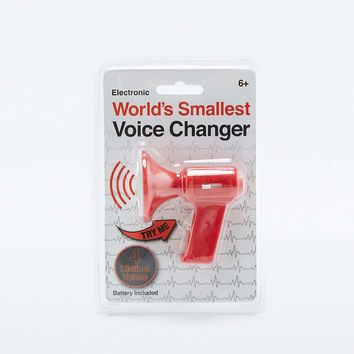 Worlds Smallest Voice Changer - Urban Outfitters