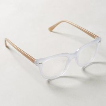 Lake Valley Reading Glasses by Anthropologie in Nude Size: