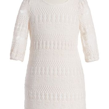 Love, Nickie Lew Lace Sheath Dress (Big Girls) | Nordstrom