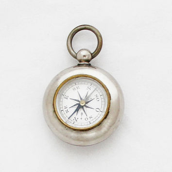 1950s Vintage 'Isle of Man' Pocket Compass