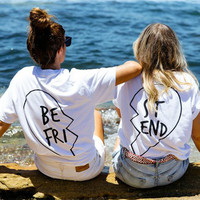 Best Friend Heart T-Shirts