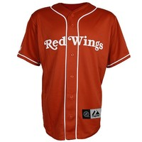 2014 Detroit Red Wings Baseball Jersey by Majestic - Jerseys - Shop Men's - Detroit Red Wings - Detroit Athletic