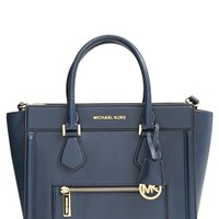 Women's MICHAEL Michael Kors 'Large Colette' Zip Detail Satchel