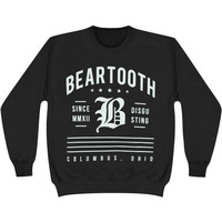 Beartooth Men's  Disgusting Since Sweatshirt Black