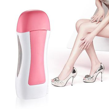 Cartridge Portable Epilator Depilatory Heater With EU Plug