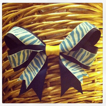 Autism Speaks Inspired Hair Bow