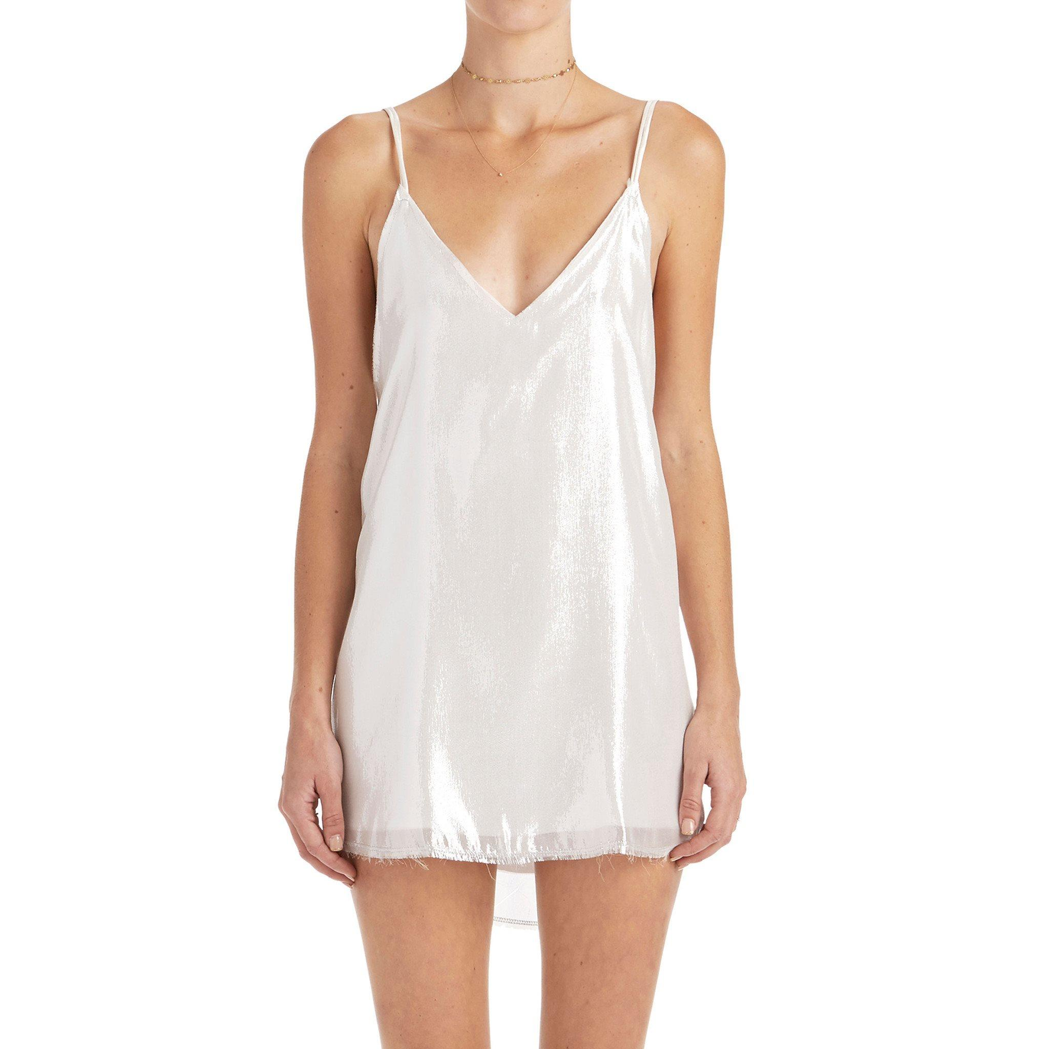 a2f05baee0 Zillah Slip Dress - Silver from are you am i