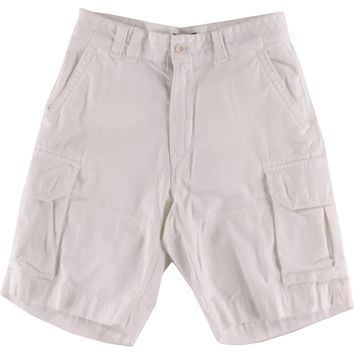 Polo Ralph Lauren Mens Twill Flap Pockets Cargo Shorts