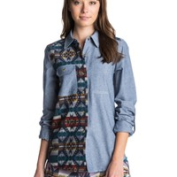 roxy Two Timer Board Shirt ARJWT03050 - Roxy