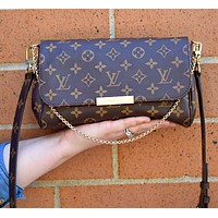 Free shipping-LV Tide brand women's chain bag Messenger bag
