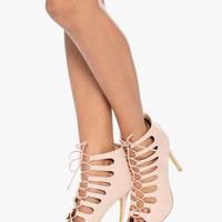 Nude Gladiator Shoes