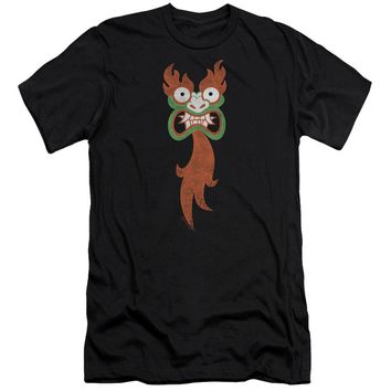 Samurai Jack - Aku Face Premuim Canvas Adult Slim Fit 30/1