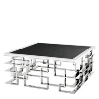 Geometric Silver Base Coffee Table | Eichholtz Spectre