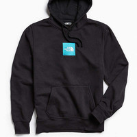 The North Face Embroidered Box Logo Hoodie Sweatshirt | Urban Outfitters