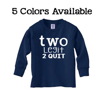 Toddler 2nd Birthday Shirt Long Sleeve