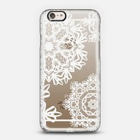 Flurries (Transparent) iPhone 6 case by Lisa Argyropoulos | Casetify
