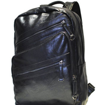 Backpack - Cross And Turn - Bags - Men - Modekungen