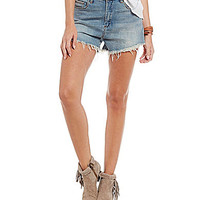 Chelsea & Violet High-Waisted Denim Shorts | Dillards.com