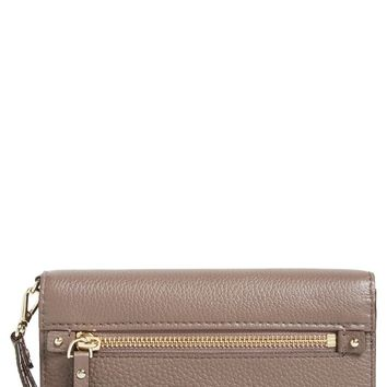 kate spade new york 'cobble hill - rae' leather wristlet wallet | Nordstrom