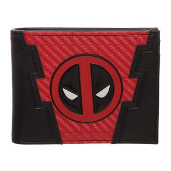 Deadpool Logo Wallet Marvel Gift Deadpool Accessory - Marvel Wallet Deadpool Gift