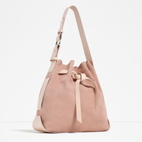 LEATHER BAG WITH KNOT