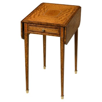 Theodore Alexander, Wilton Pembroke Drop-Leaf Table, Standard Side Tables