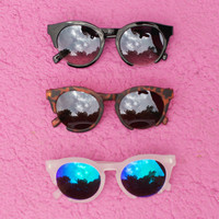 Cut Out Frame Sunglasses