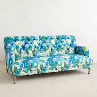 Orianna Sofa by Anthropologie Blue Motif One Size Furniture