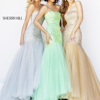 Sherri Hill Prom Dress 21280 at Peaches Boutique