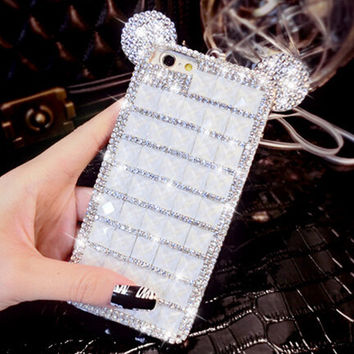 handmade diamond iphone 6 6s plus creative case