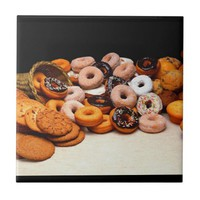 Sweet Donuts Tile