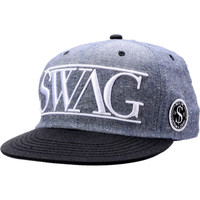 Neff Swag Grey Snapback Hat at Zumiez : PDP