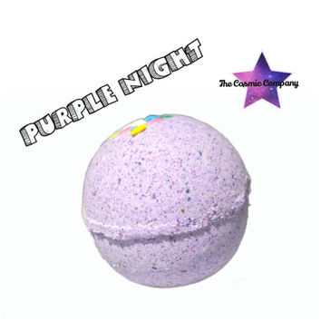 "Purple Night"" Bath Bomb"