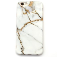 Marble iPhone Case | Gray White Gold Marble Phone Case