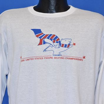 80s U.S. Figure Skating Championships 1986 t-shirt Large