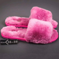 UGG: wool in one word drag slippers Roes G-A-YYMY-XY
