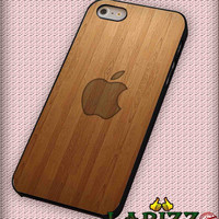 "wooden apple wallpaper for iPhone 4/4s, iPhone 5/5S/5C/6/6+, Samsung S3/S4/S5 Case ""08"""