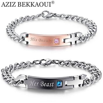 Unique Stainless Steel Gift Bracelets For Your Lover