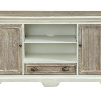 Two Door One Drawer Media Console