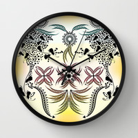 Bohemian Wall Clock by Famenxt