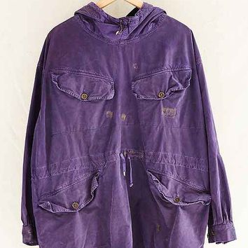 Vintage Overdyed Purple Parka