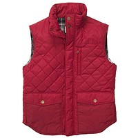Varsity Vest in Red by Southern Proper - FINAL SALE