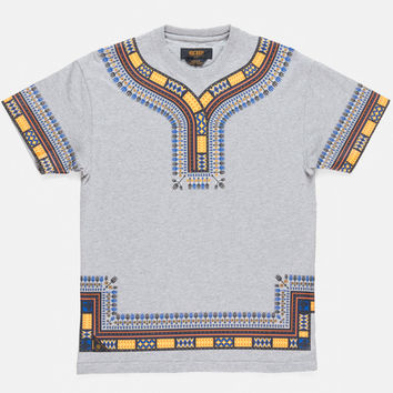 10Deep | Tops | SP14 Dashiki Tee - Heather Gray